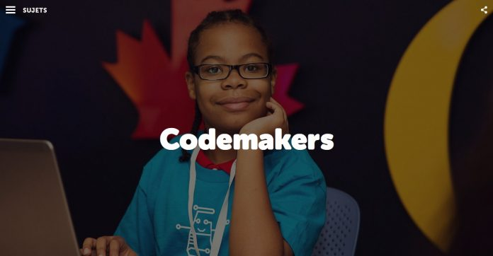 Programme Codemakers d'Actua