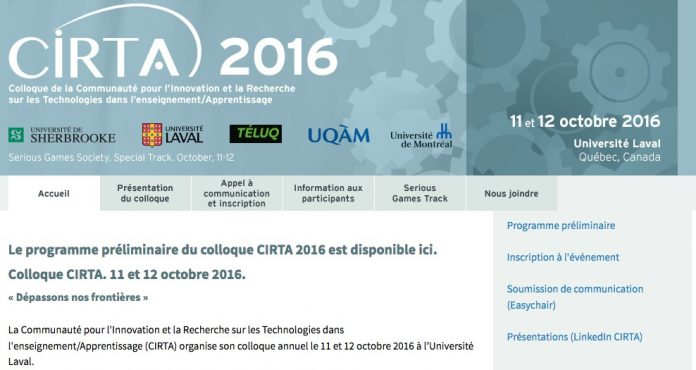 Colloque CIRTA 2016