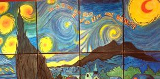 Murale à l'Académie Lafontaine