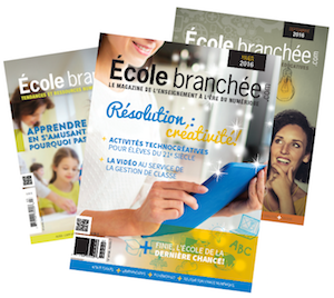 Magazines École branchée 2016