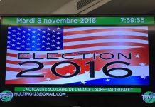 L'élection américaine 2016 à l'école