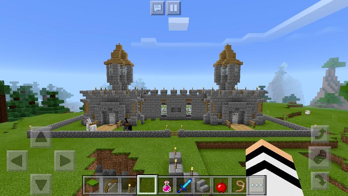 Minecraft ce qu en pensent les experts les jeunes - Chateau de minecraft ...