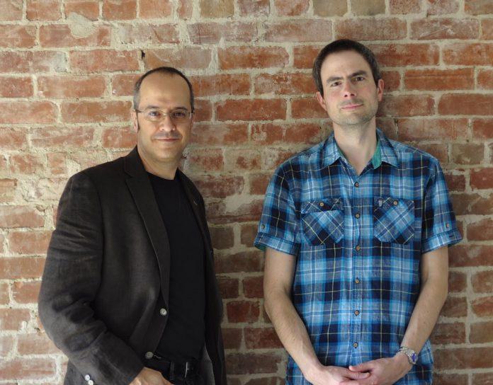 Renaud Boisjoly et Pascal Bourque, créateurs de Studyo