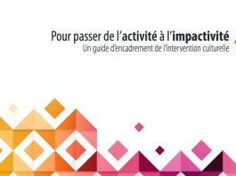 Un guide pour appuyer l'intervention culturelle en milieu minoritaire francophone