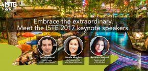 La conférence de l'International Society for Technology in Education (ISTE) 2017 se déroule à San Antonio, au Texas.