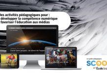 Des activités pour développer la compétence numérique et éduquer aux médias