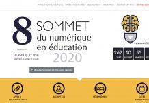 Sommet du numérique en éducation 2020