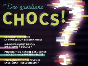 Des questions chocs en éducation : l'École branchée, numéro d'automne 2019